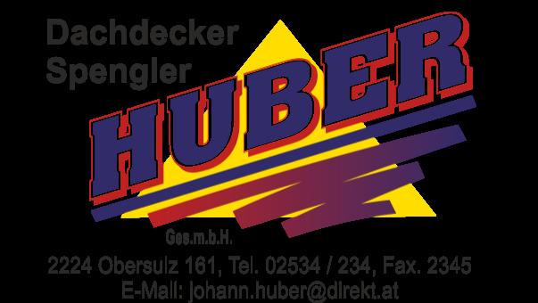 Huber - Dachdecker & Spengler - Logo