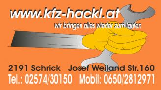 KFZ Hackl Logo